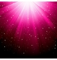luminous rays vector image vector image