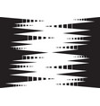 Speed line fast motion vector image