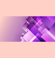 abstract purple squares geometric overlapping vector image
