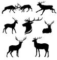 DeerSet vector image vector image