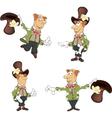 Gnome set cartoon vector image vector image