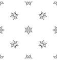 ninja shuriken star weapon pattern seamless black vector image vector image