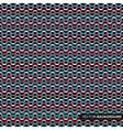 Seamless wrapping pattern with zigzag vector image