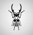Beetle Tribal vector image
