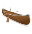 Canoe 01 vector | Price: 1 Credit (USD $1)