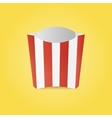 Realistic French Fries Paper Box vector image