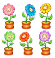 smile flower eps10 file - simple gradients no vector image vector image