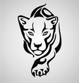 Big Cat Tribal vector image