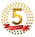 celebration anniversary five years