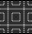 design seamless monochrome grating pattern vector image