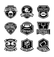Football Badges vector image vector image