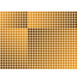 orange tiles - seamless wallpaper vector image vector image