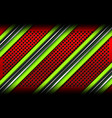 red green metal lines backgrounds vector image