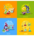 Scientific Disciplines Colorful Concept vector image vector image