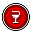 wine glass icon vector image