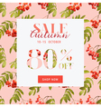 autumn sale hortensia banner - for discount