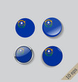 set round buttons with image nevada vector image vector image