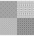 Simple guard grids vector image