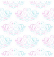 swan pair seamless pattern vector image vector image