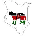 Cheetah Kenya vector image vector image