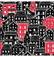 Houses New Pattern 6 vector image vector image