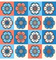 set 1 floral 1 r3 vector image