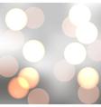sparkling bokeh vector image vector image