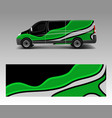 graphic abstract wave designs for wrap vehicle