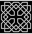 kelt ornament vector image vector image