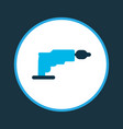 screwdriver icon colored symbol premium quality vector image
