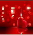 valentines romantic background vector image vector image