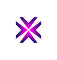 arrow logo symbol - right left up down direction vector image