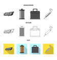 auto and part logo vector image vector image