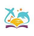 book education vector image