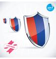 I Love France Flag vector image