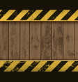 metal plate with yellow stripes vector image vector image