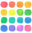 Watercolor Blobs Pattern vector image vector image