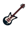 electric guitar instrument vector image