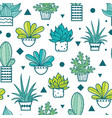 blue green seamless repeat pattern with vector image vector image