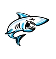 color shark icon vector image vector image