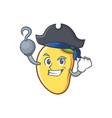 pirate mango character cartoon mascot vector image vector image