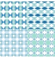 Seamless geometric patterns Decorative vector image