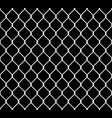 seamless metal chain link fence wire fence vector image vector image