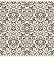 vintage lace texture seamless pattern vector image vector image