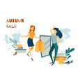 woman shopping purchases clothes and footwear vector image vector image