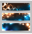 Bokeh light banners vector | Price: 1 Credit (USD $1)