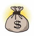 money bag cartoon dollar sign