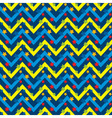 Seamless Pattern with Stars and Zigzag vector image vector image