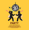 People Having Fun At Party vector image