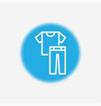 clothes icon sign symbol vector image vector image